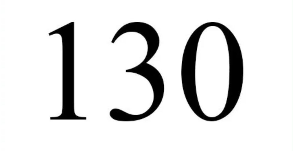 Numerologi 130