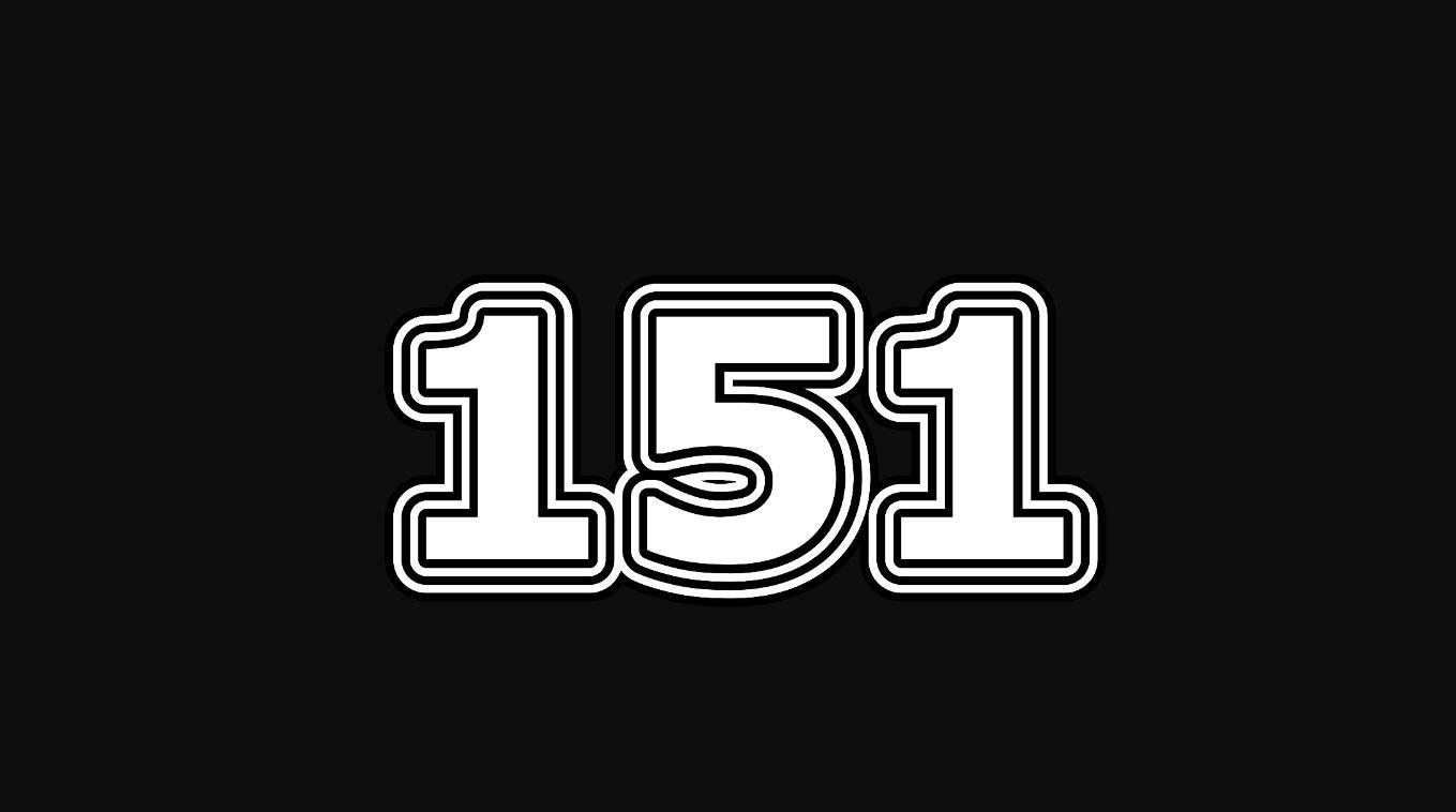 Numerologi 151