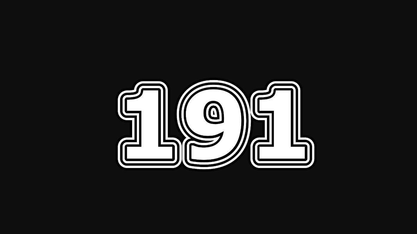 Numerologi 191