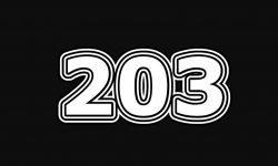 Numerologi 203: Betydelse och Symboler