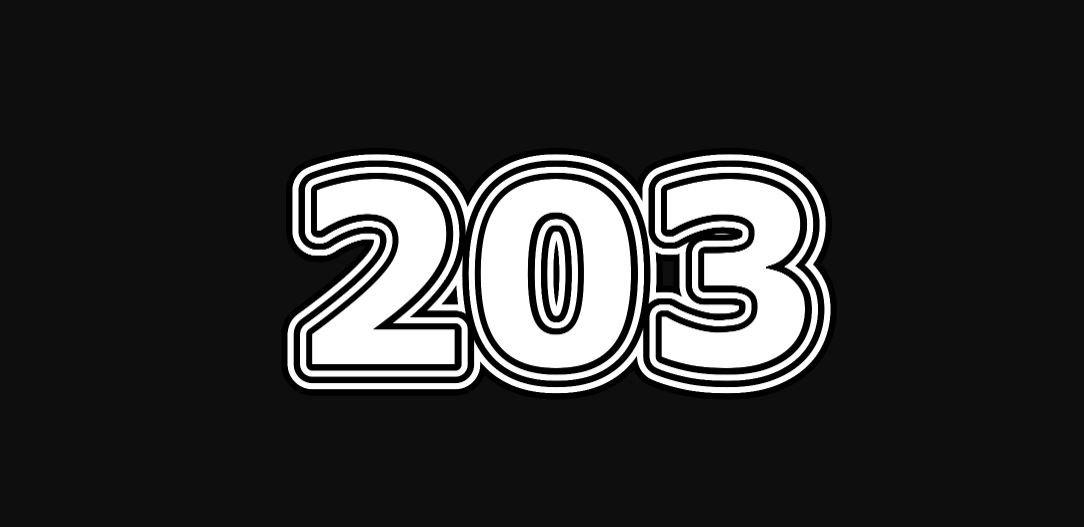 Numerologi 203