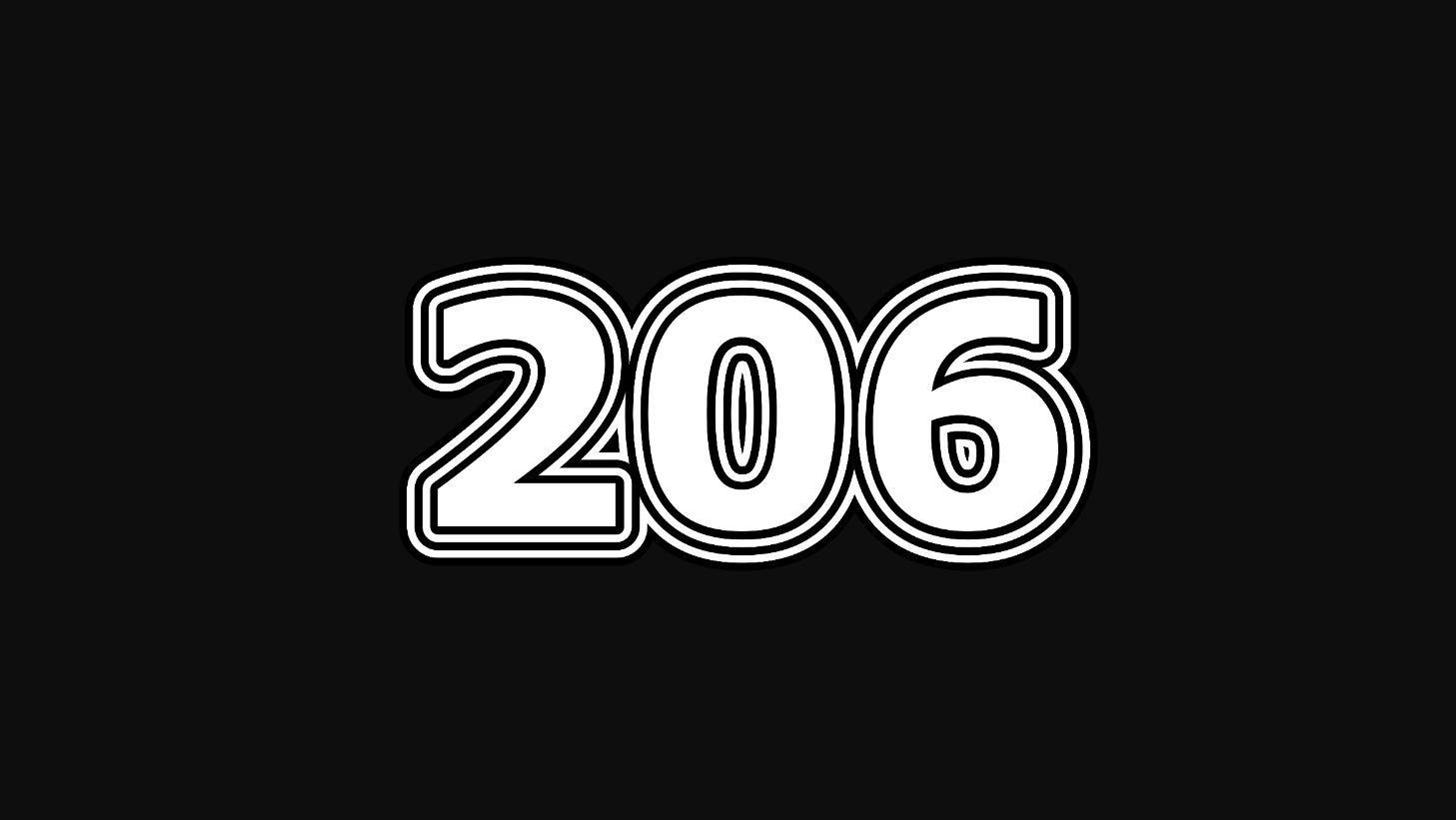 Numerologi 206