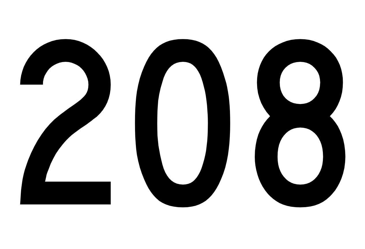 Numerologi 208