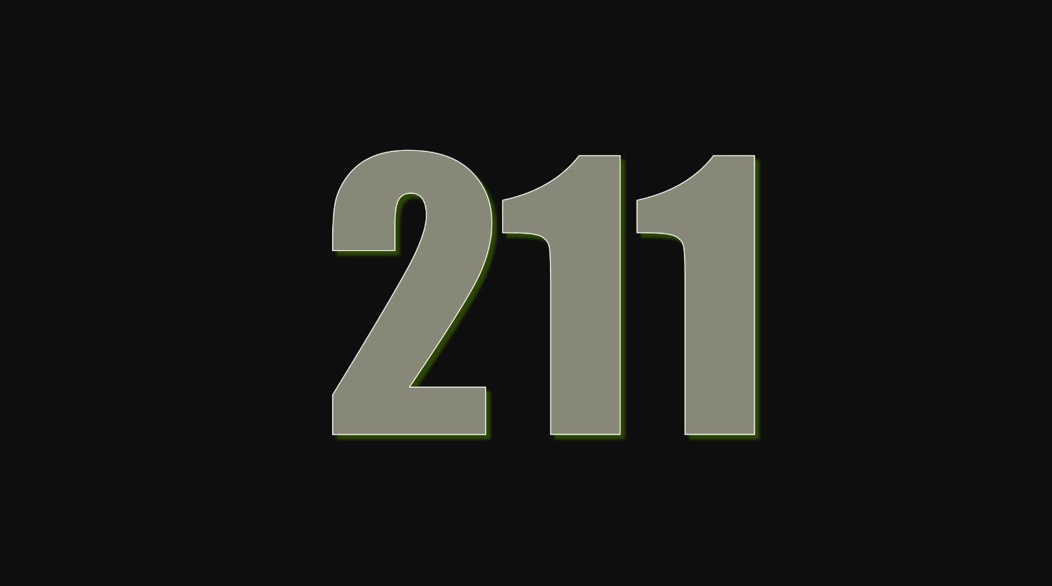 Numerologi 211