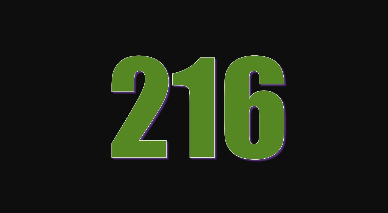 Numerologi 216