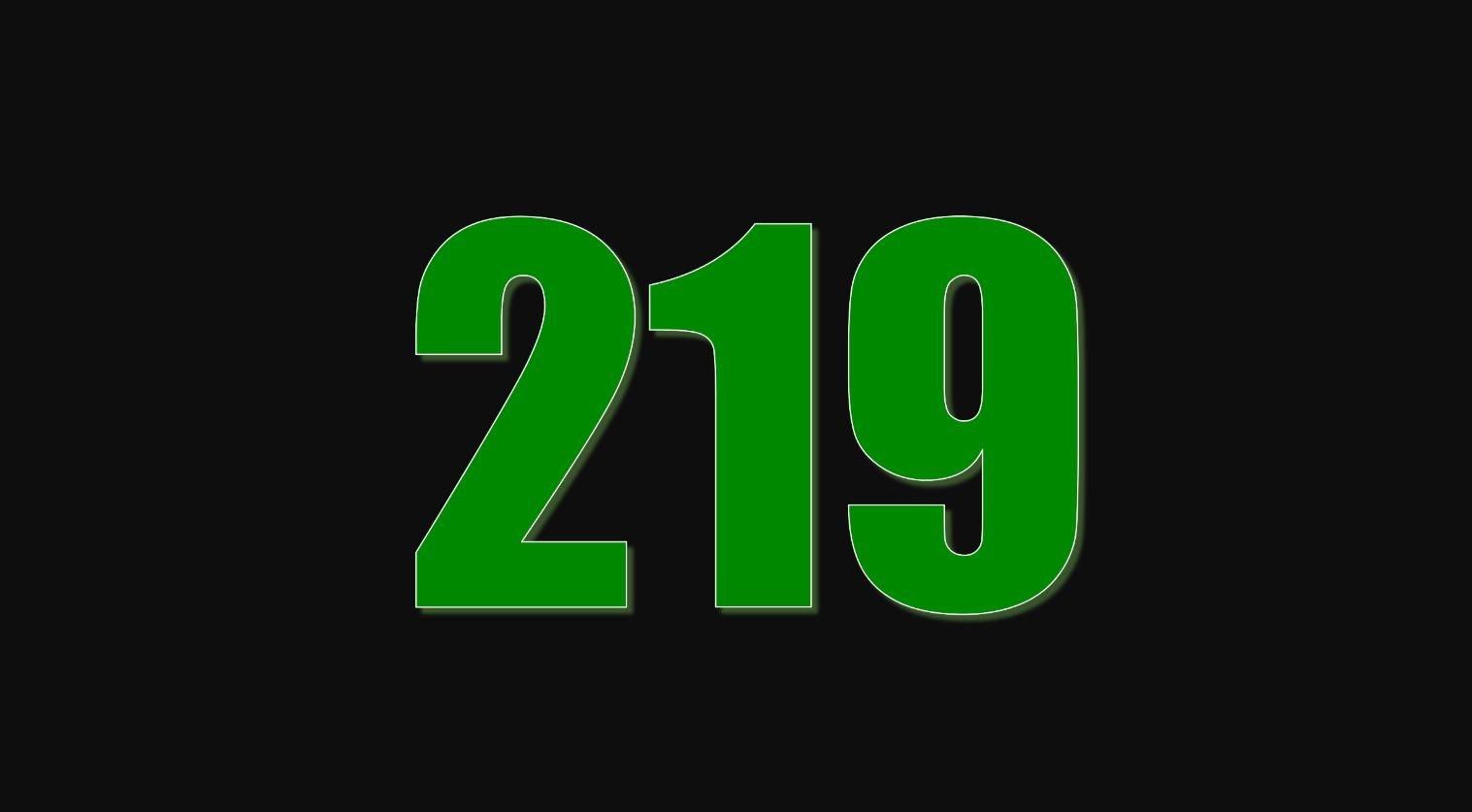Numerologi 219
