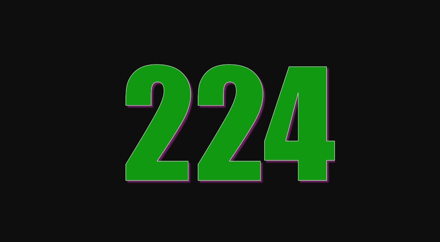 Numerologi 224