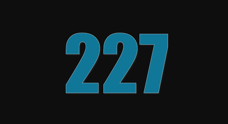 Numerologi 227