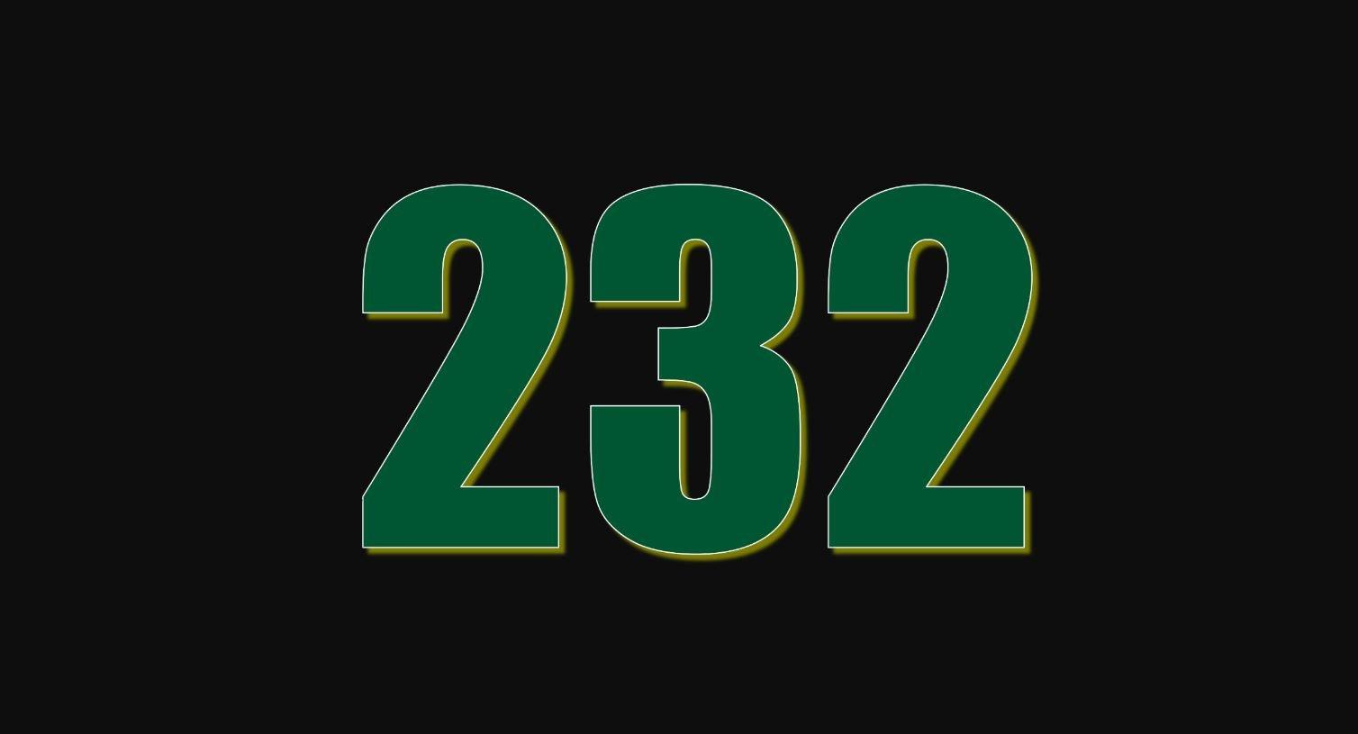 Numerologi 232