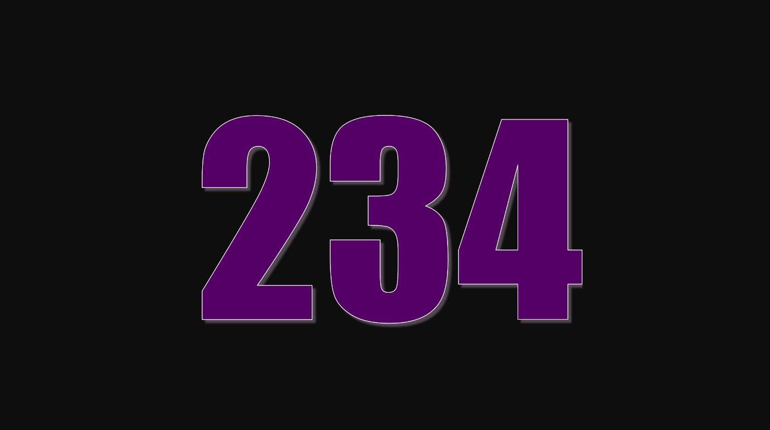 Numerologi 234