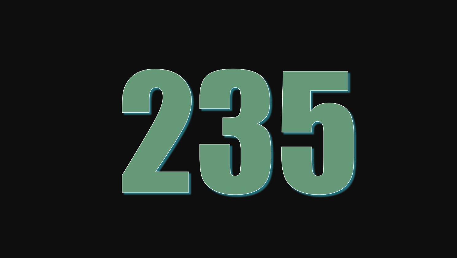 Numerologi 235