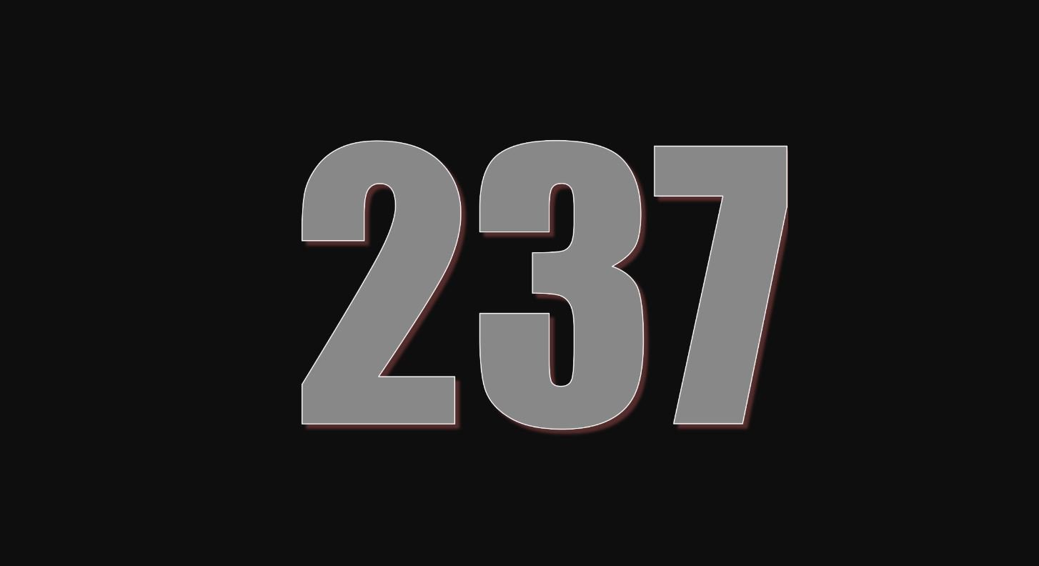 Numerologi 237