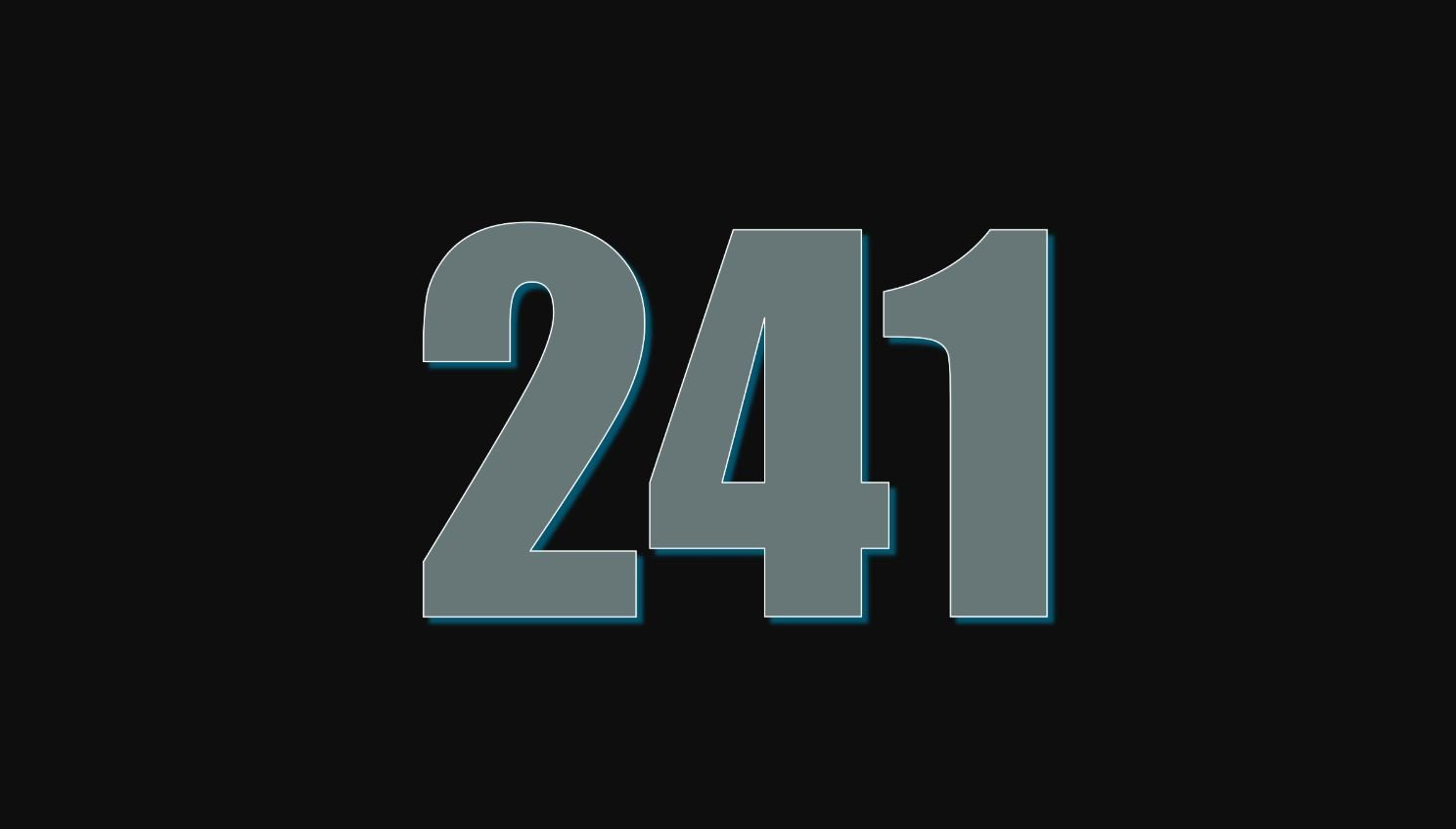 Numerologi 241