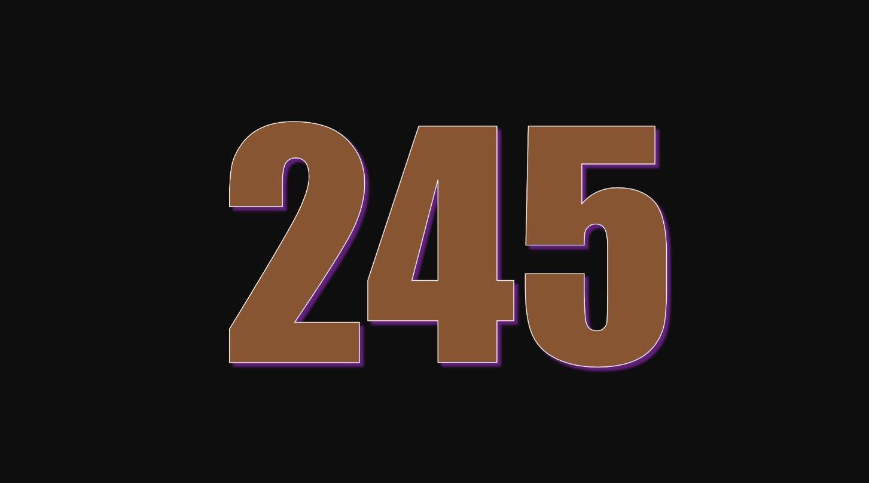 Numerologi 245