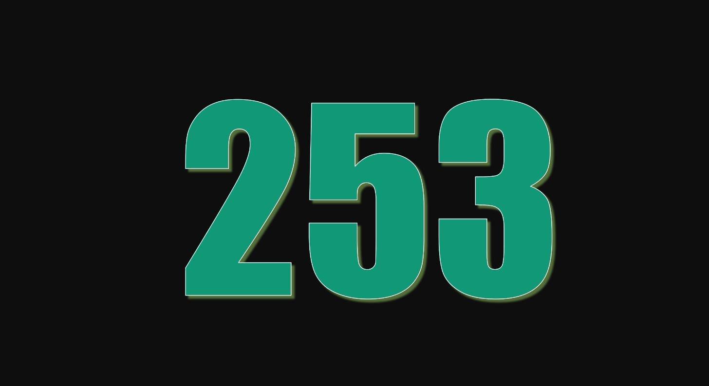 Numerologi 253