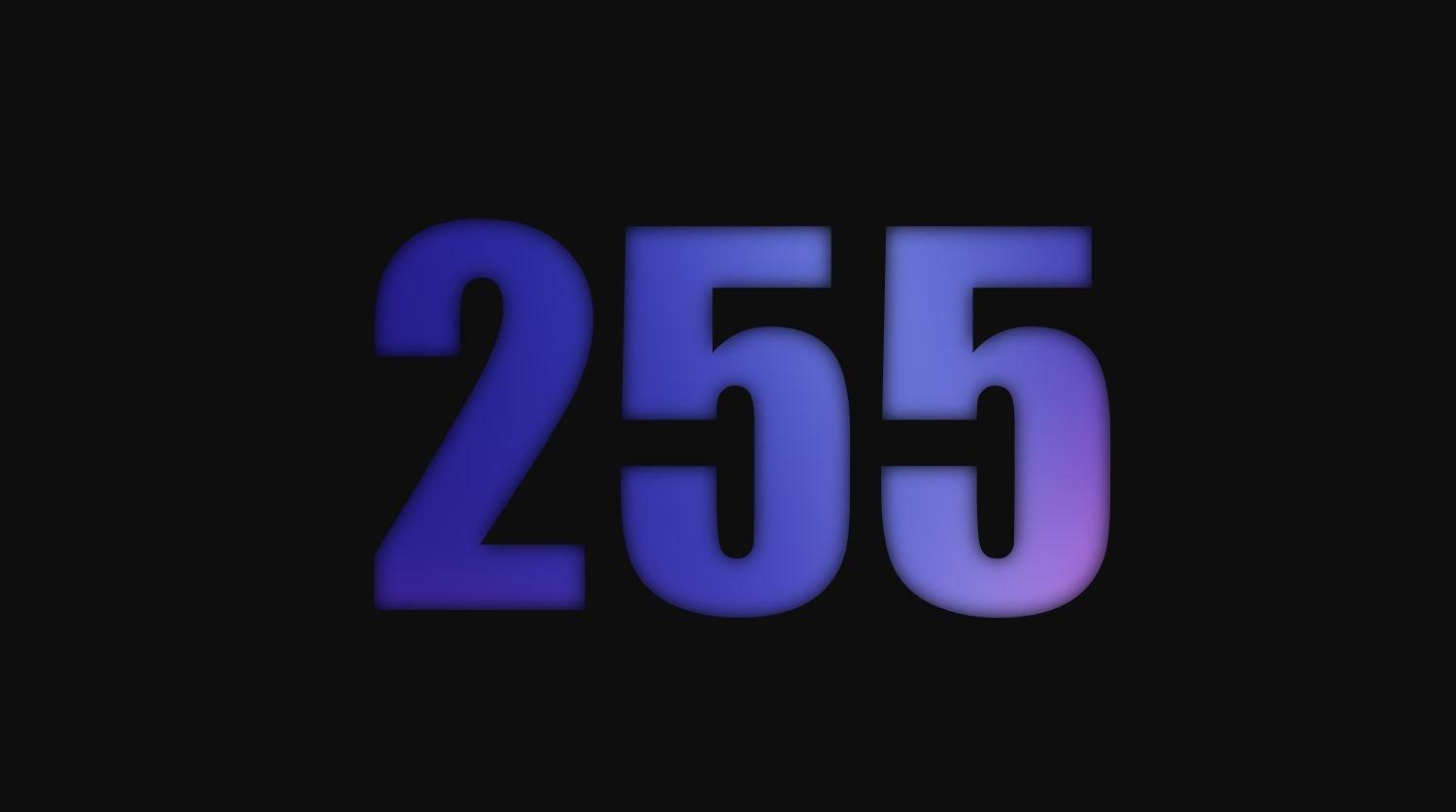 Numerologi 255