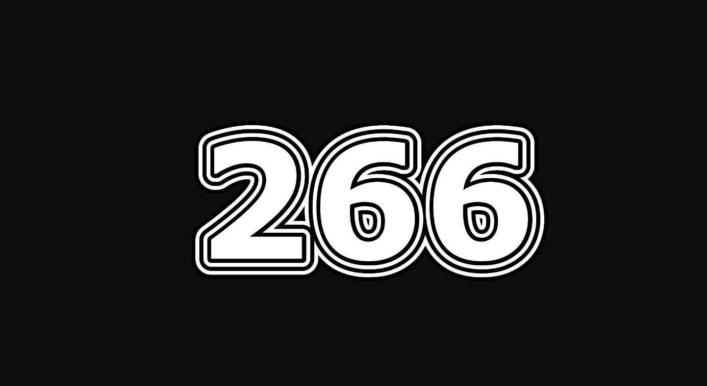 Numerologi 266
