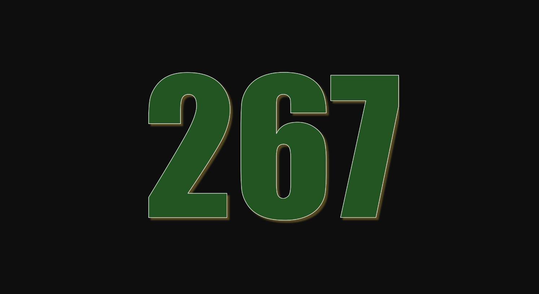 Numerologi 267