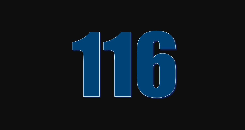 Numerologi 116