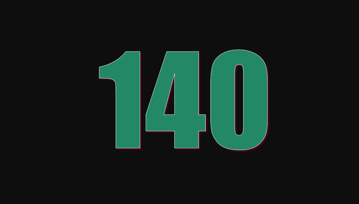Numerologi 140