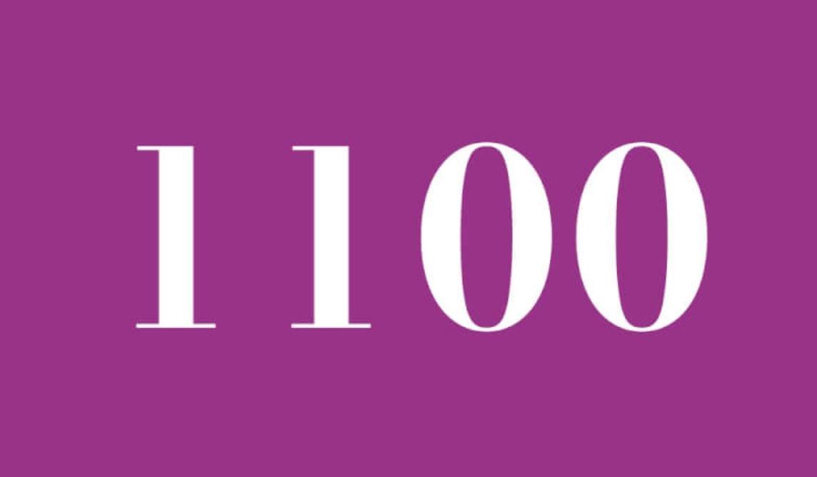 Numerologi 1100