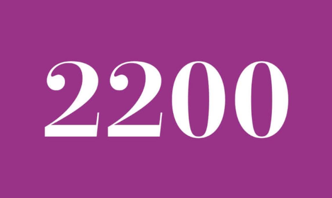 Numerologi 2200
