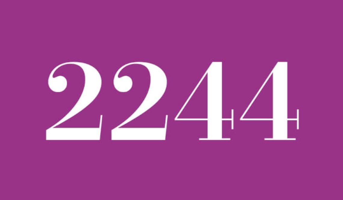Numerologi 2244