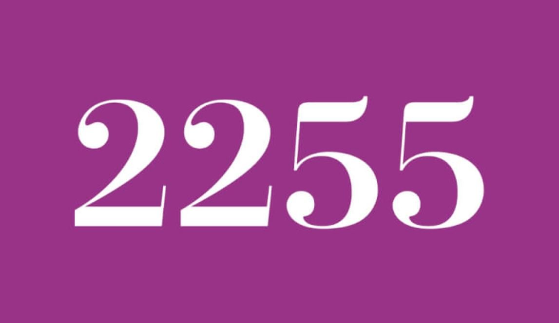 Numerologi 2255