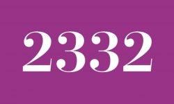 Numerologi 2332: Betydelse och Symboler