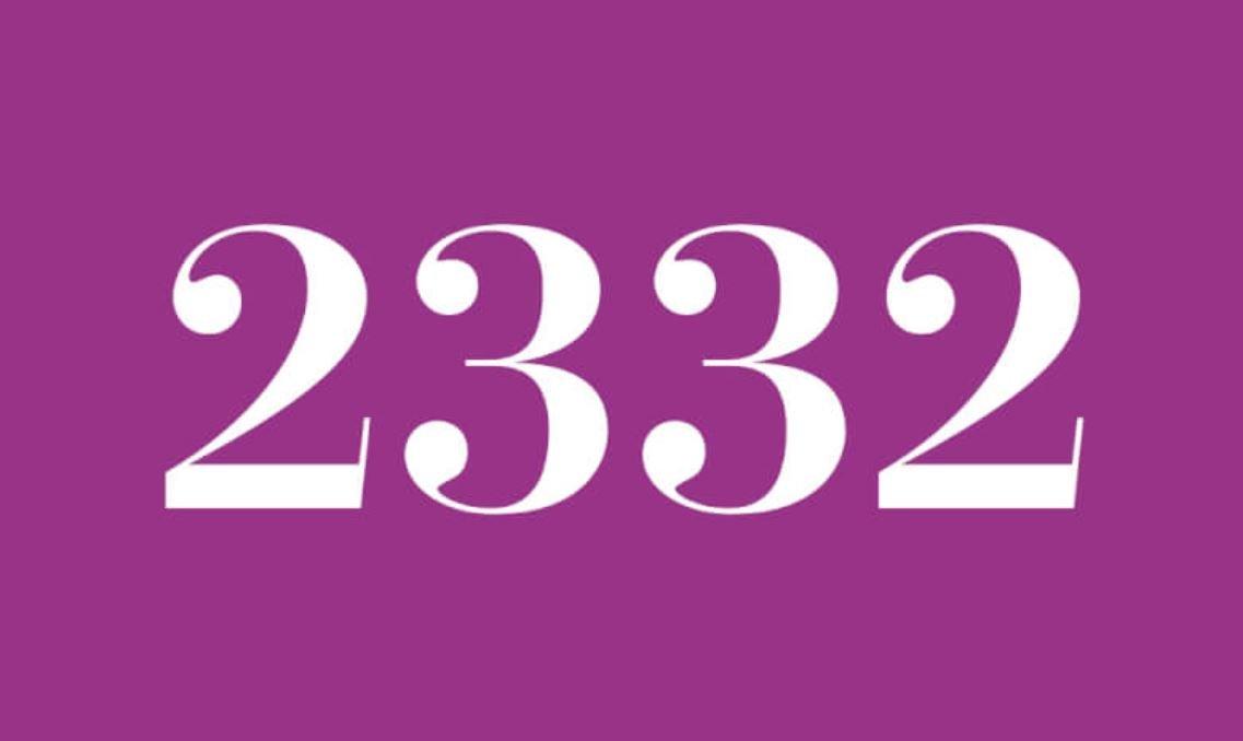 Numerologi 2332