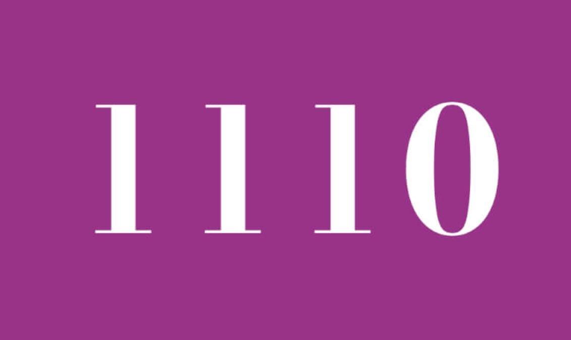 Numerologi 1110