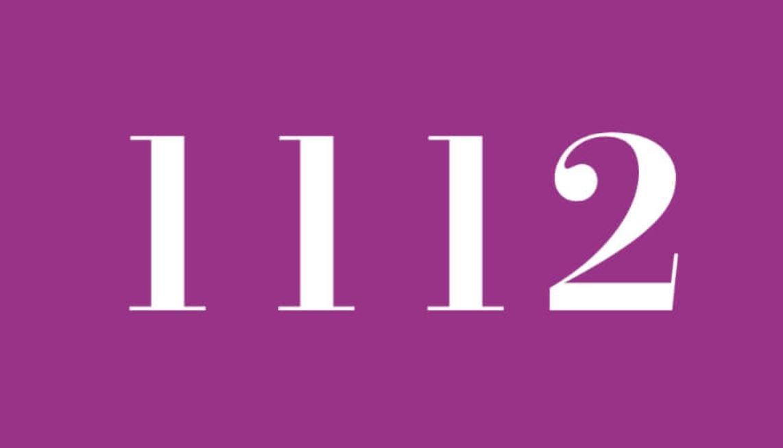 Numerologi 1112