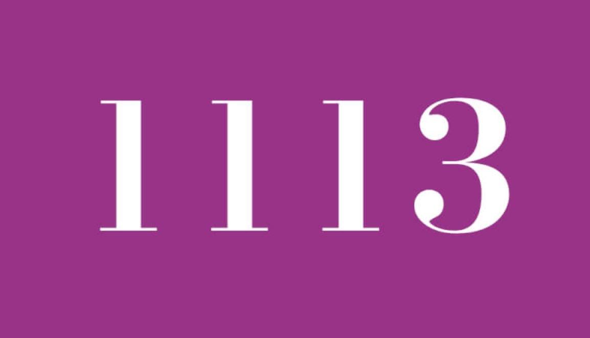 Numerologi 1113
