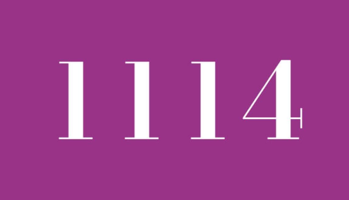Numerologi 1114
