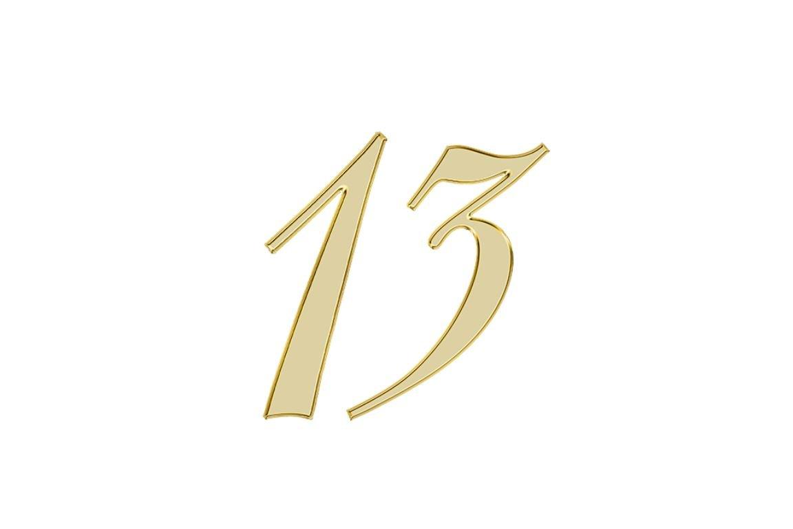 Änglanummer 13