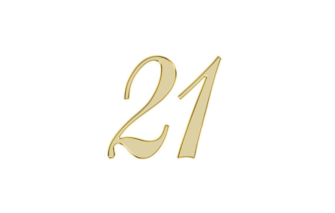 Änglanummer 21