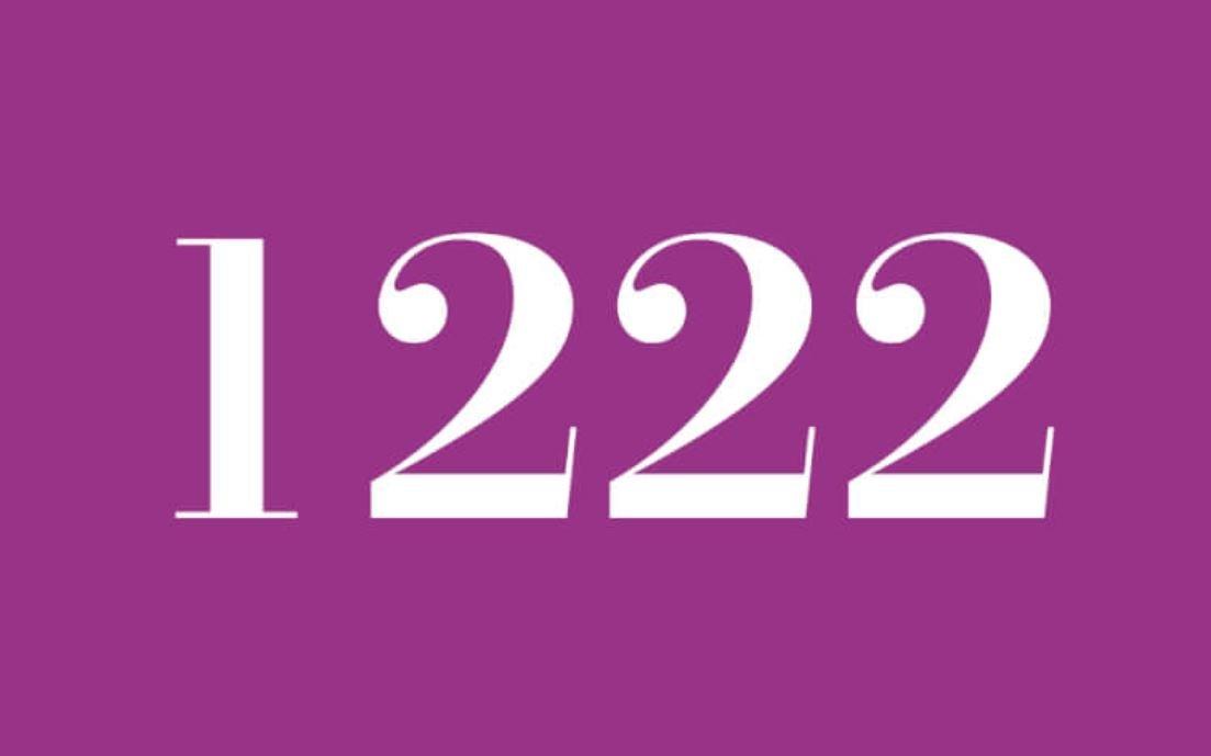 Numerologi 1222