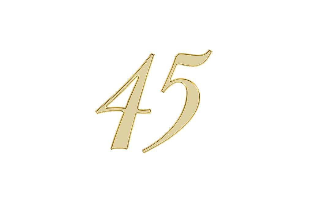 Änglanummer 45