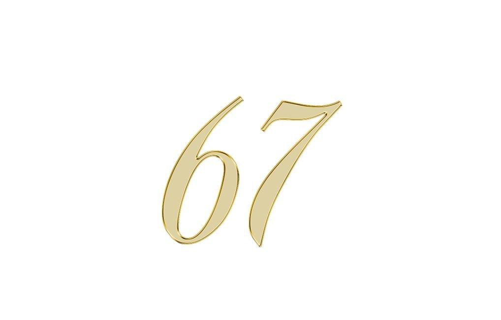 Änglanummer 67