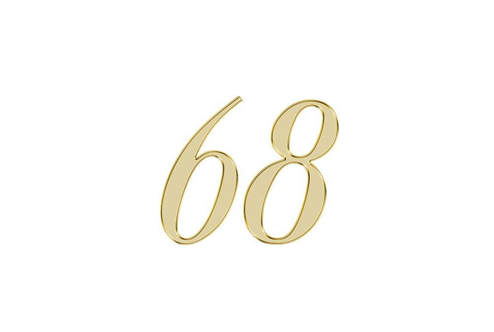 Änglanummer 68