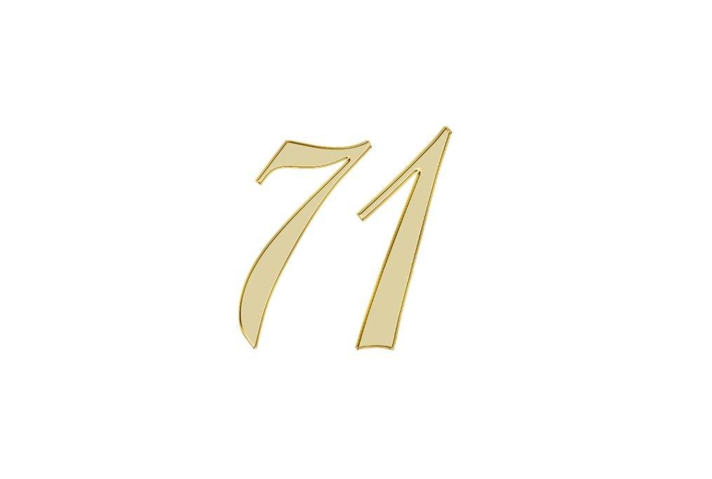 Änglanummer 71
