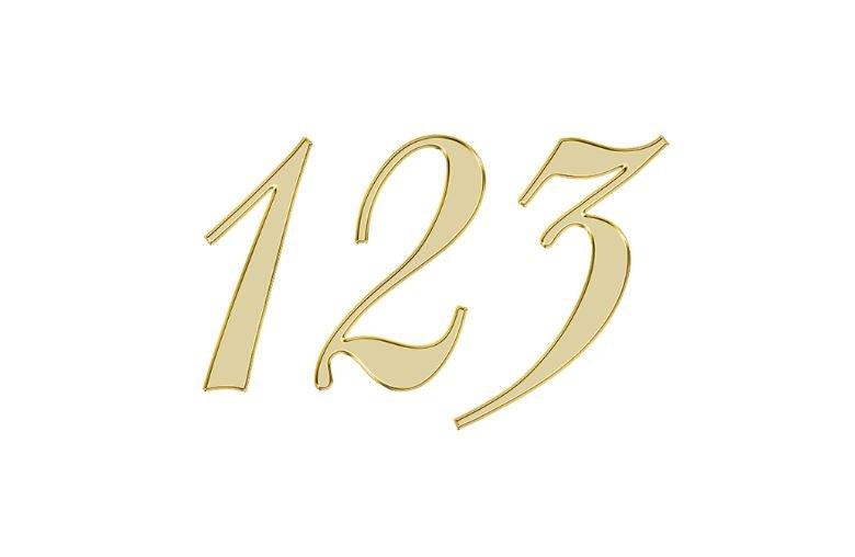 Änglanummer 123