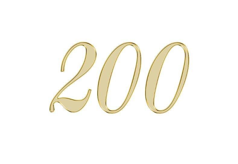 Änglanummer 200