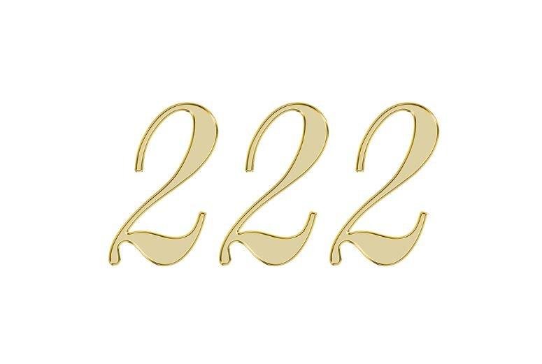 Änglanummer 222