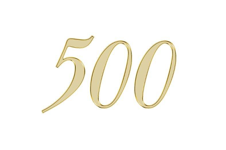 Änglanummer 500