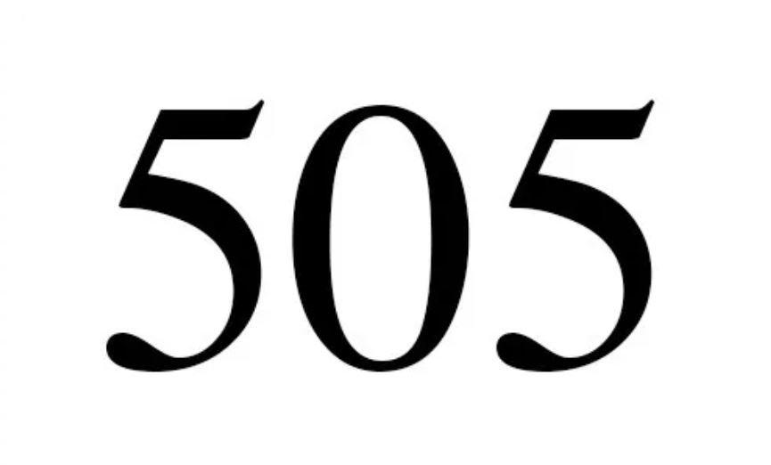 Änglanummer 505
