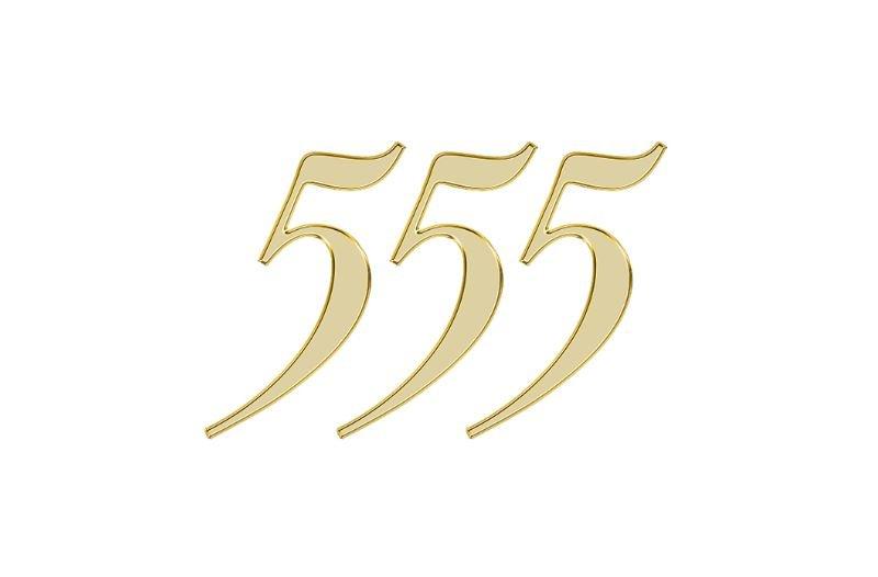 Änglanummer 555