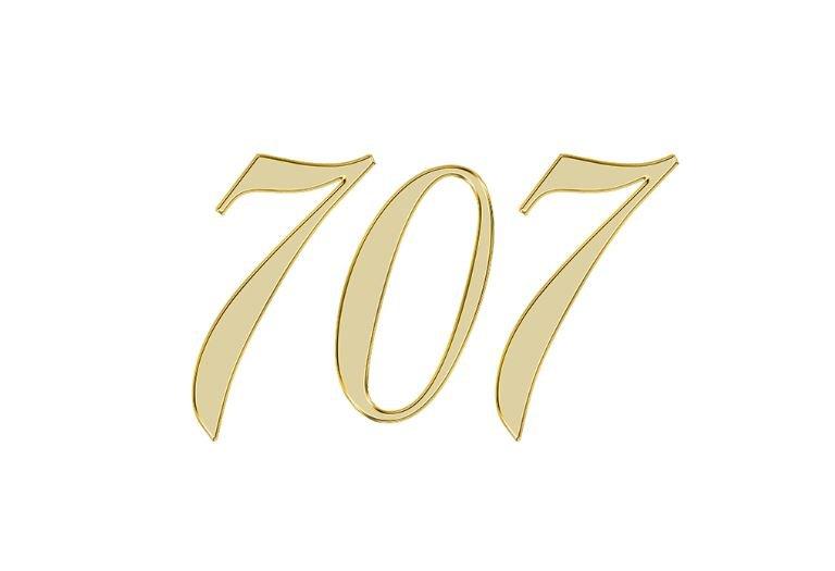 Änglanummer 707