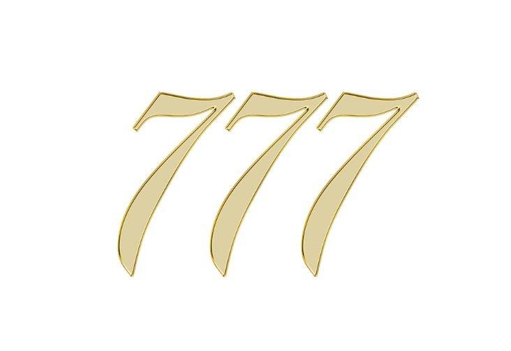Änglanummer 777