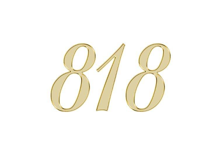 Änglanummer 818